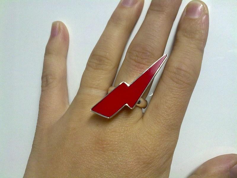 anillos resina colores