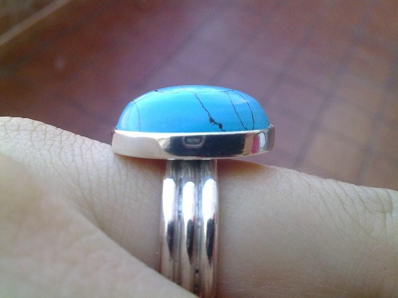 anillo turquesa